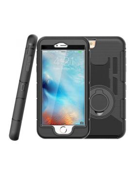 3 in 1 Armor Shockproof Case for iPhone 8 Plus & iPhone 8