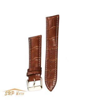 100% Genuine Brown Leather Watch Band