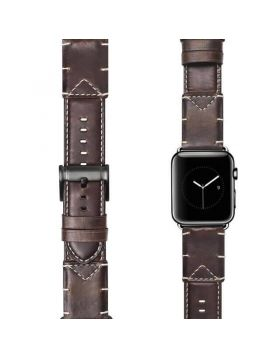 Business Style Apple Watch Leather Band Series 5 4 3 2 1