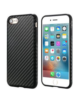 Cool Carbon Fiber Case For iPhone X & iPhone 8 Plus/7 Plus & iPhone 8/7