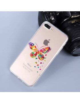 Cute Soft TPU iPhone Case - Butterfly