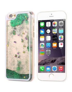 Dynamic Liquid Bling Sequin Quicksand Clear Hard Case for iPhone