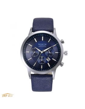 Genuine Leather Men's Casual Watch