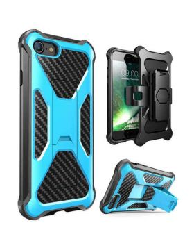 Hybrid Heavy Duty Case Cover for IPhone 8 Plus/7 Plus & iPhone 8/7 with Clip Stand Back