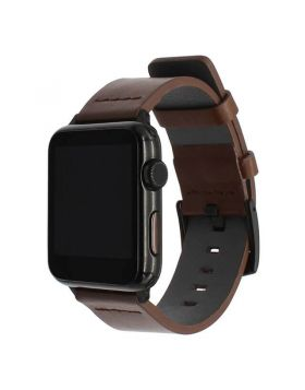 Italian Oily Leather Apple Watch Bands 38mm 40mm 42mm 44mm