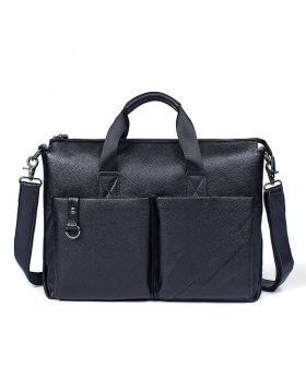 Men's Classic Leather Business Briefcase