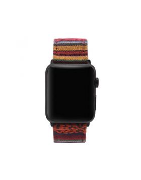 National Wind Nylon Fabric Watch Band For Apple Watch