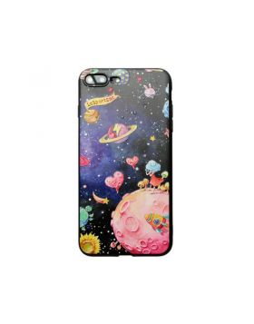 Starry Space Universe 3D Relief iPhone Case
