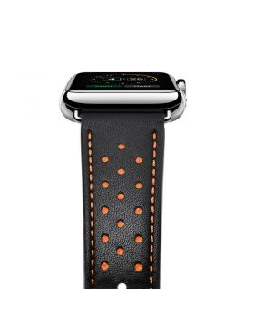 Stylish Genuine Leather Watch Bands For Apple Watch Series 5/4/3/2/1