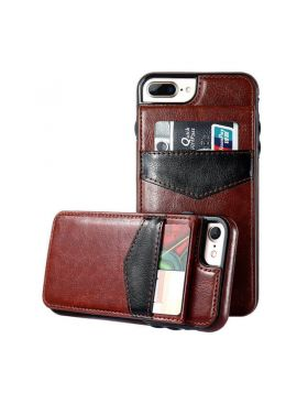 Vintage Wallet Leather Case For iPhone X & iPhone 8 Plus/7 Plus & iPhone 8/7