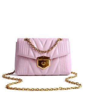 Women's Fashionable Chain Leather Mini Shoulder Bag