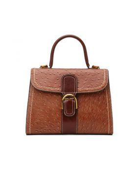 Women's Vintage Genuine Leather Shoulder Handbag